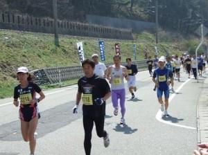 第22回笹川流れマラソン大会にて2