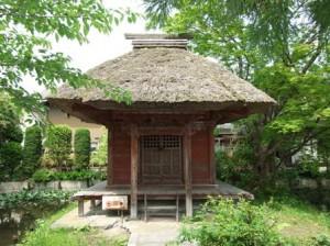 乙宝寺の入り口の建物