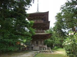 乙宝寺~三重塔
