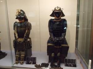 兜と鎧の展示
